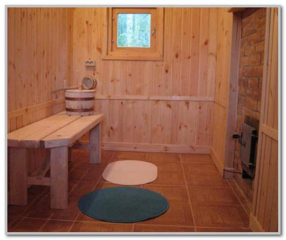 Как сделать кафельные полы в бане 179