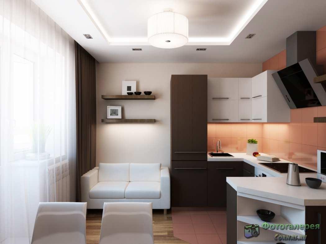 Дизайн интерьера однокомнатной квартиры 30 кв м фото