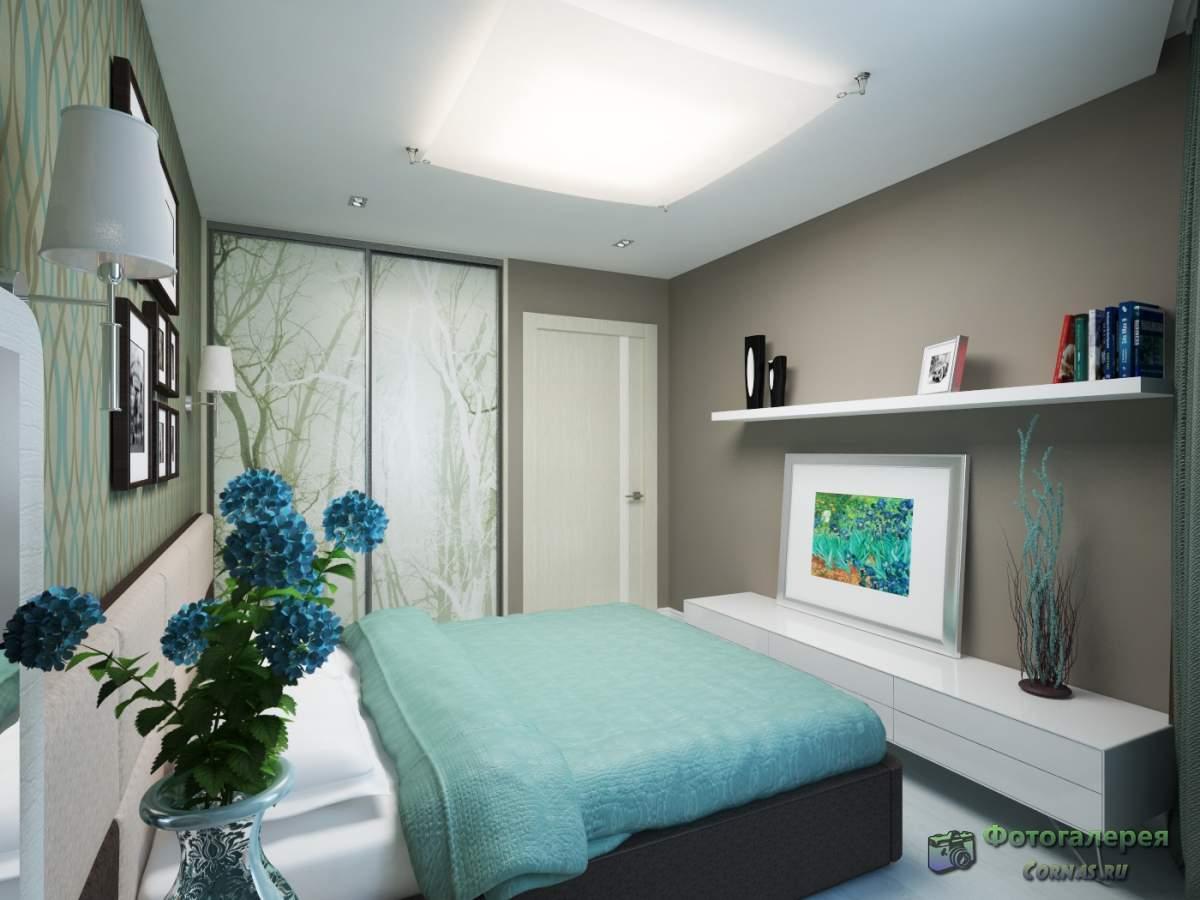Дизайн спальни 12 метров квадратных