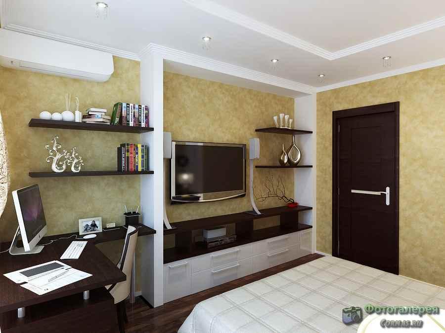 Дизайн 3-х комнатной квартиры 75 кв.м