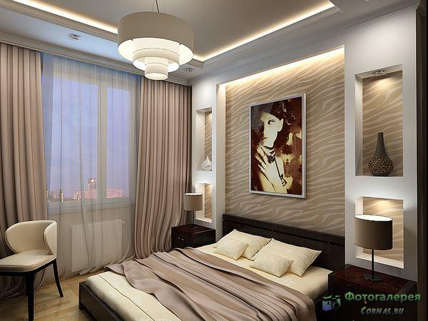 Дизайн спальни 12 кв метров.