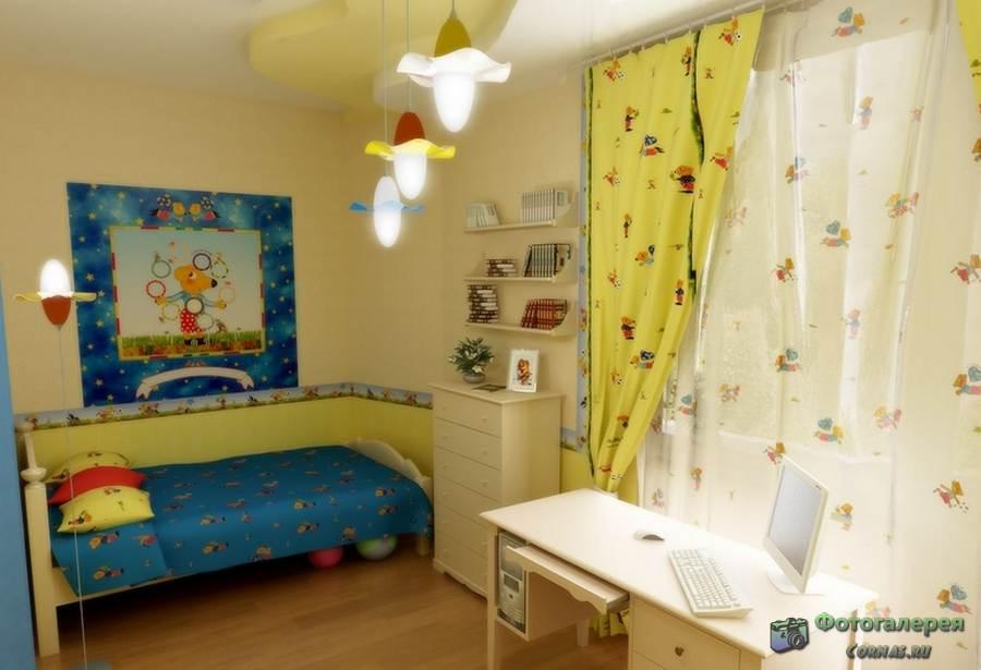 Детская комната 10 кв. м. - уютный и стильный 15