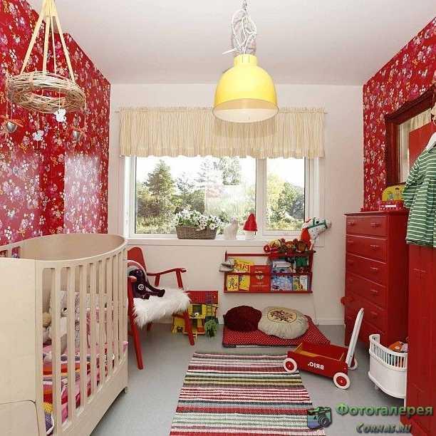 Дизайн детской 10 кв.м