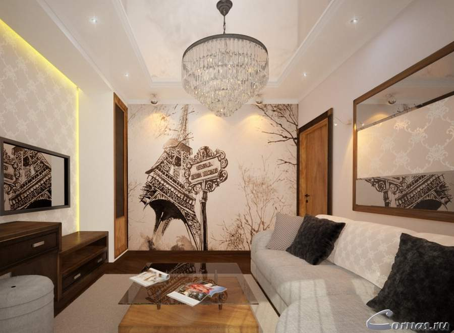 Дизайн современных гостиных