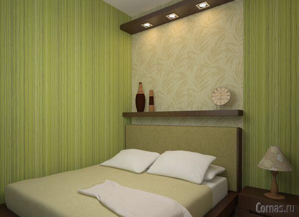 Спальня 9 кв м дизайн фото в хрущевке