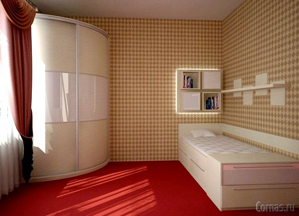дизайн спальни 9 квм фото