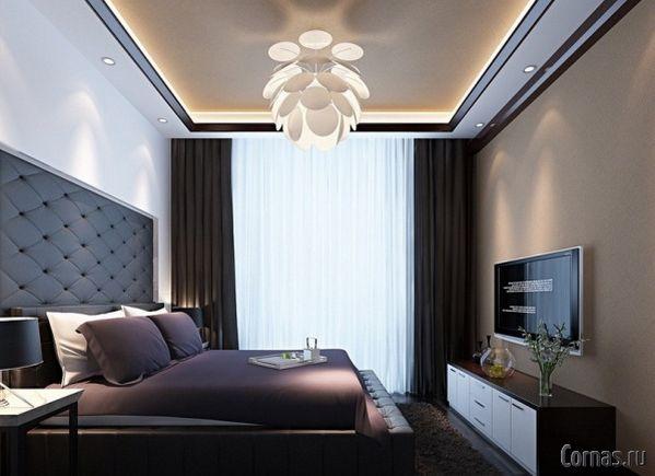 дизайн спальни фото 9 кв м