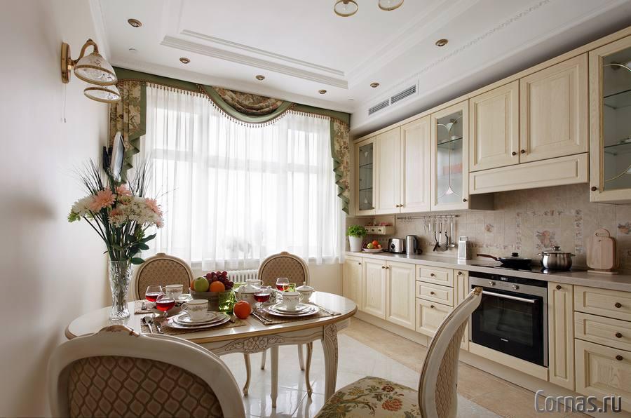 Интерьер кухни 12 метров