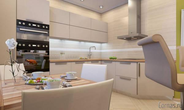 Дизайн квартир 55 кв