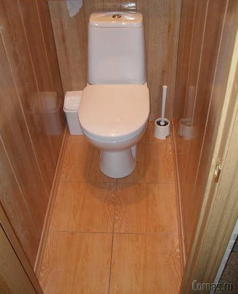 фото панели в туалете фото