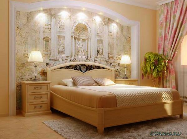 декоративное панно в спальню
