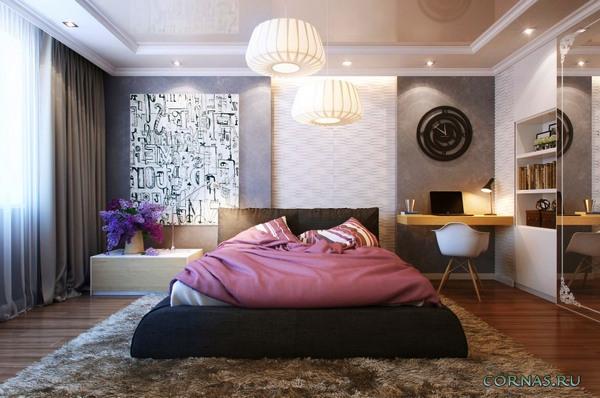 Дизайн комнаты 15 м.кв
