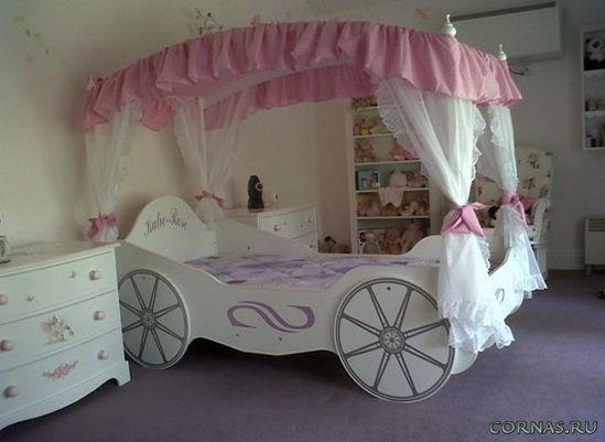 Детские кровати для девочек своими руками фото