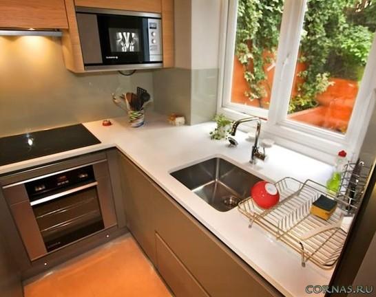 дизайн маленькой кухни 7 кв.м. фото