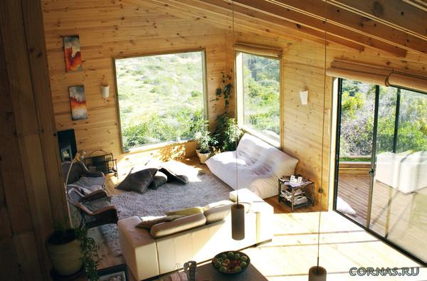 Интерьер небольшого дома фото