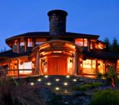 Интерьер деревянного дома: фото и характеристики разных стилей