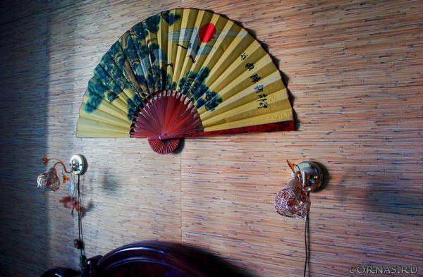 фото веер на стену