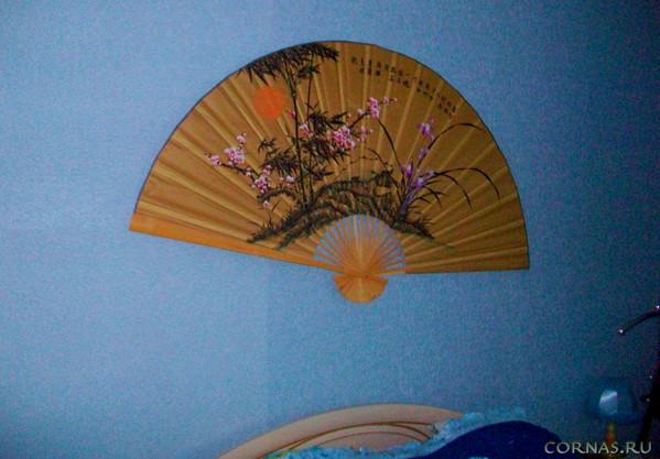 Китайский веер на стену своими руками 74