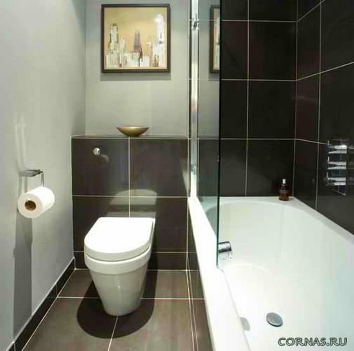 Дизайн ванной 3 на 2