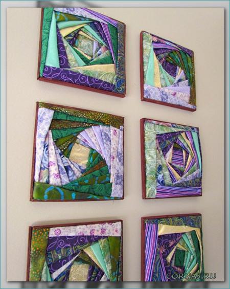 Картины на стену из ткани
