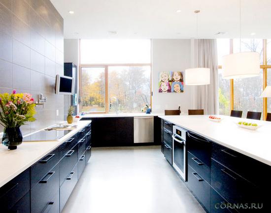 Кухня из стеновых панелей дизайн