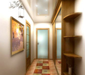 Дизайн узкой прихожей — оформление и способы совмещения с коридором