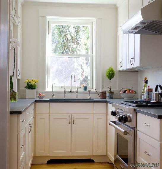 Кухня 4 на 2 метра дизайн фото