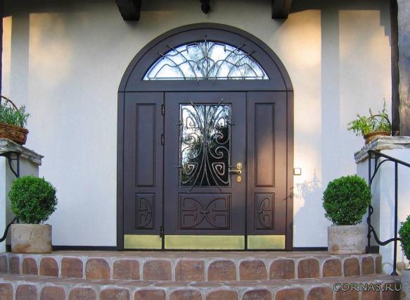 Дизайн входных дверей+фото