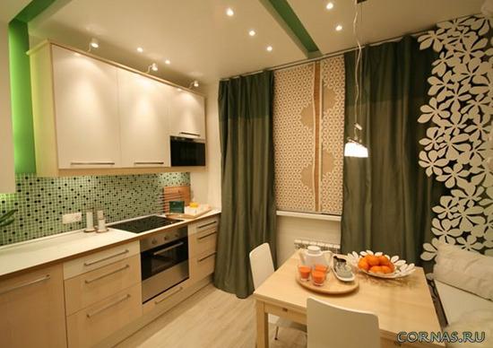 интересные решения для кухни 8 кв