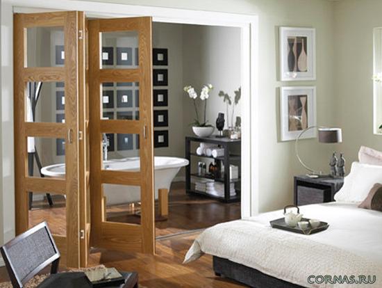 Дверь гармошка межкомнатная фото