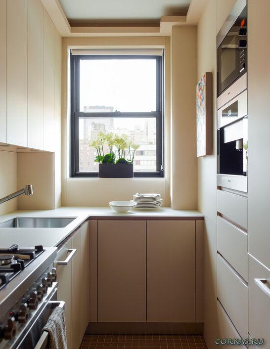 Дизайн маленькой кухни 5.5 кв.м фото