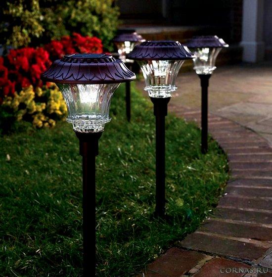 Светильники для улицы своими руками 54