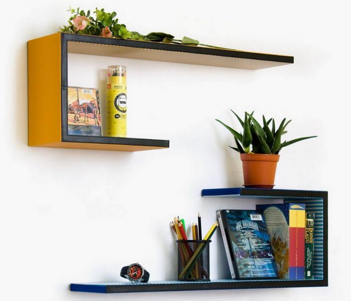 Дизайн настенных полок своими руками фото 640