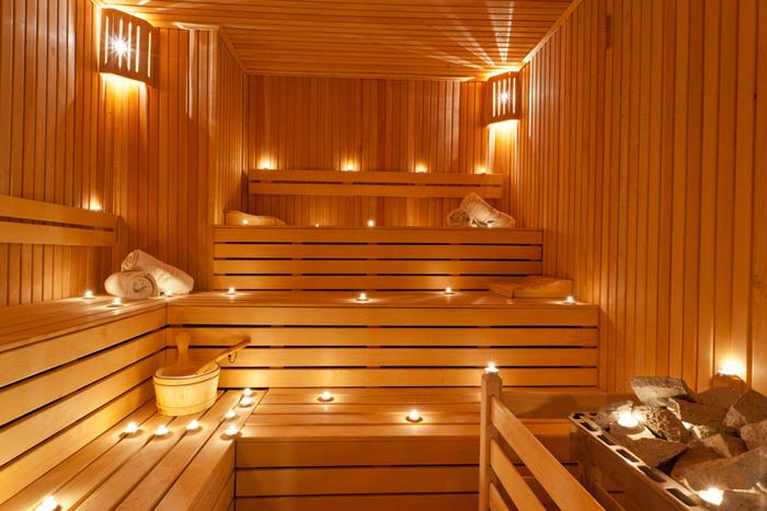 фото баня внутренняя отделка
