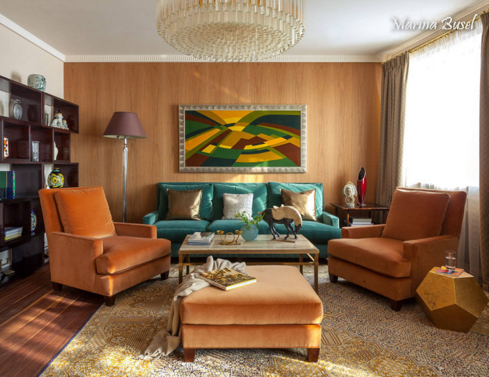 Дизайн квартир (гостиная) фото - 12