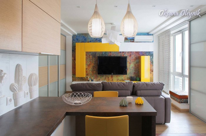 Дизайн квартир (студия) фото - 19