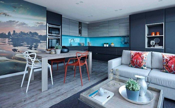 Фото дизайна квартир -32