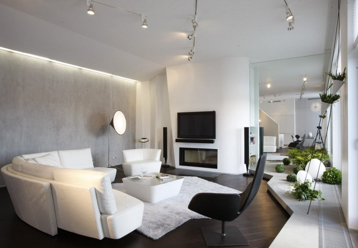 Фото дизайна квартир -40