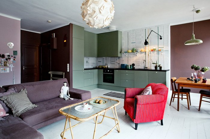 Фото дизайна квартир -74
