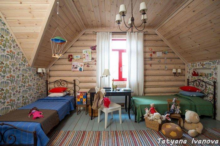 Дизайн комнаты для дачи своими руками 482