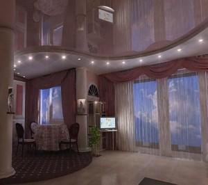 Способы подсветки потолка