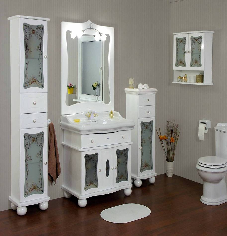 Из чего делают мебель для ванной комнаты?