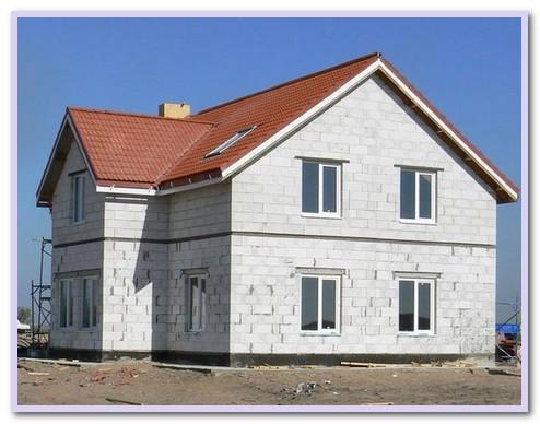 Построить дом из газобетона