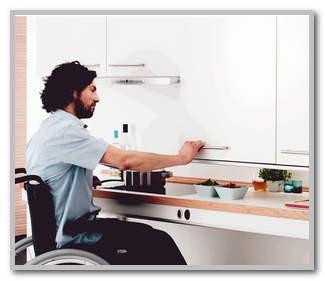 На какой высоте вешать кухню