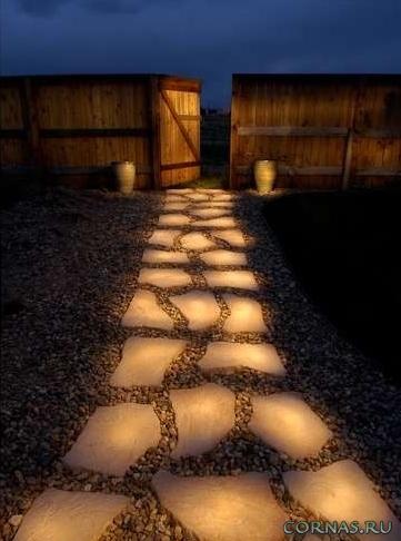 Светящиеся камни своими руками