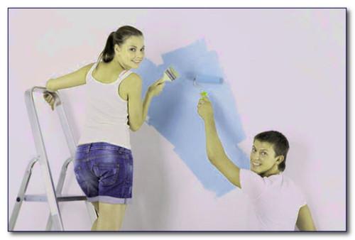 Какой краской красить стены. Виды и типы
