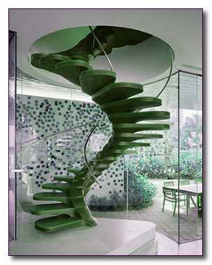 Виды лестниц на второй этаж. Маршевые, винтовые лестницы
