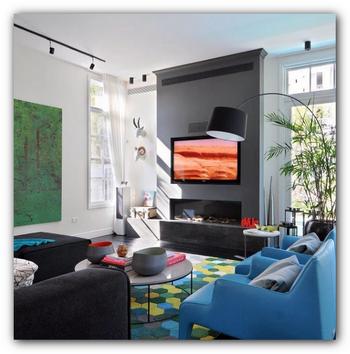 Оформление гостиной комнаты. Материалы для оформления