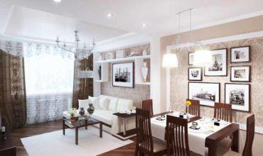 Дизайн проект трехкомнатной квартиры 100 кв.м