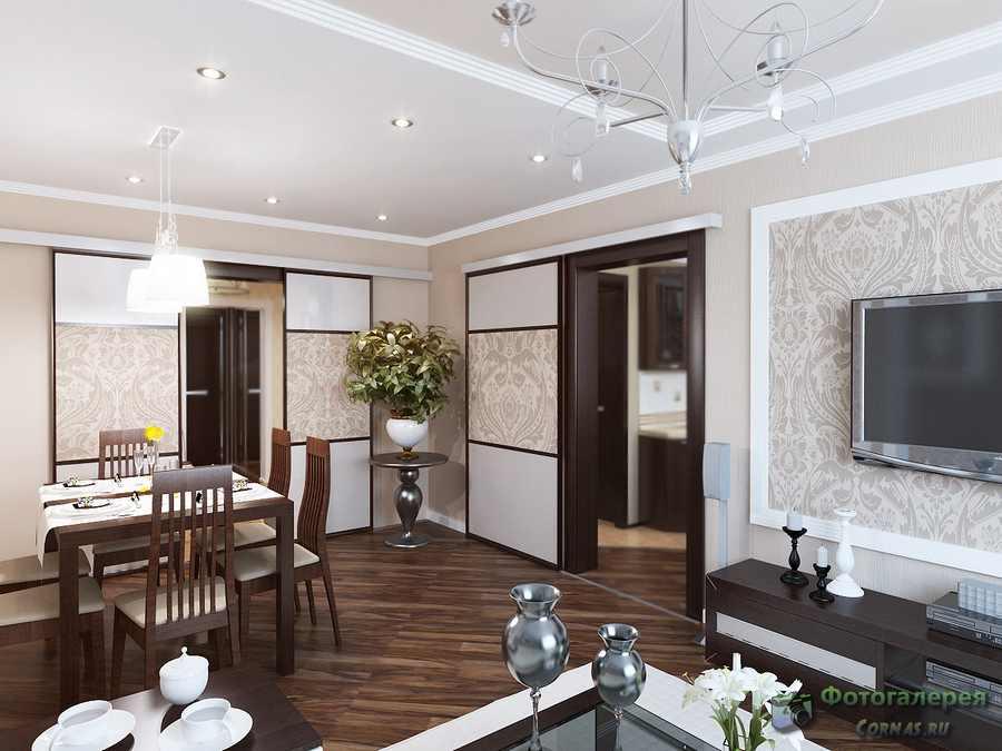 Дизайн проект трехкомнатной квартиры 100 кв.м фото
